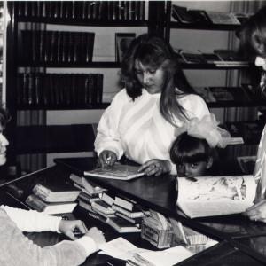 на юношеской кафедре в 80-е годы